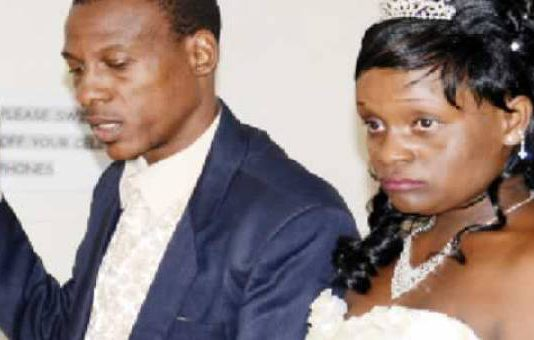 Jealous woman humiliated after trying to crash ex-lover's wedding