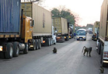 BREAKING NEWS: South Africa bans trucks from entering Beitbridge Boarder Post after Zimra BAN on Groceries
