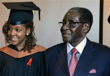 Bona Mugabe and Father