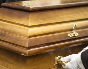 man buried with Gold